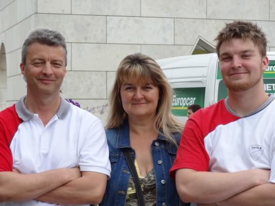 Kampfkunstschule Meißgeier - Mario, Andrea, Patrick