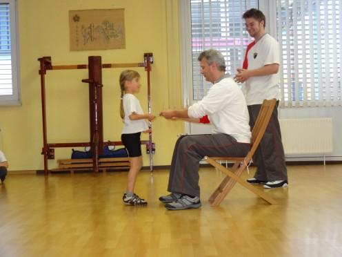 KidsWT Prüfungen: Selbstverteidigung für Kinder