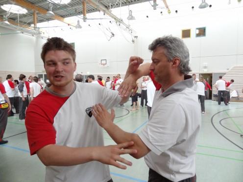 Mario hits Patrick - Internationaler Lehrgang 2013