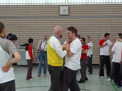 Sifu Kernspecht und Patrick - Internationaler Lehrgang 2013